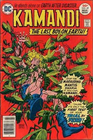 Kamandi, the Last Boy on Earth 49-A