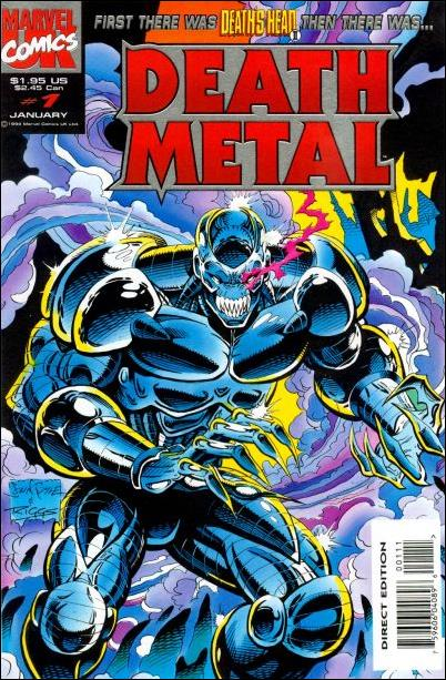 Death Metal (UK) 1-A by Marvel UK