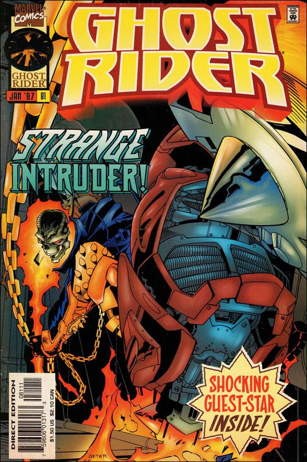 Ghost Rider (1990) 81-A by Marvel