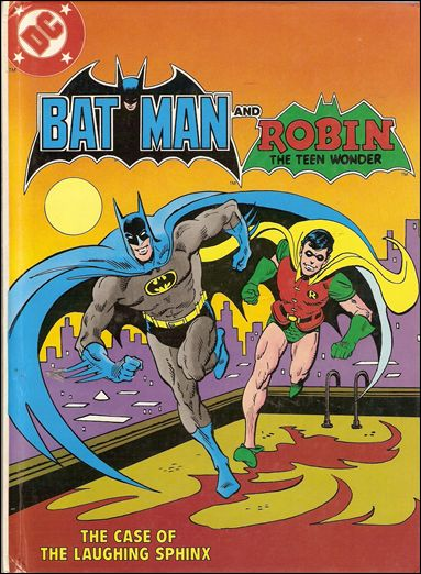Batman and Robin: The Case of the Laughing Sphinx 81-A by DC