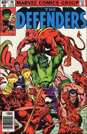 Defenders (1972) 80-A by Marvel