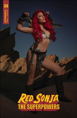 Red Sonja: The Superpowers 4-H