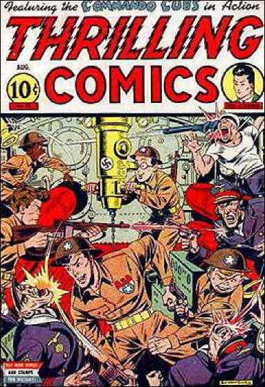 Thrilling Comics (1940) 43-A by Standard