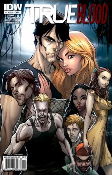 True Blood (2010) 1-B by IDW