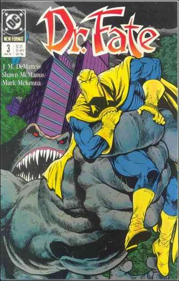Doctor Fate (1988) 3-A by DC