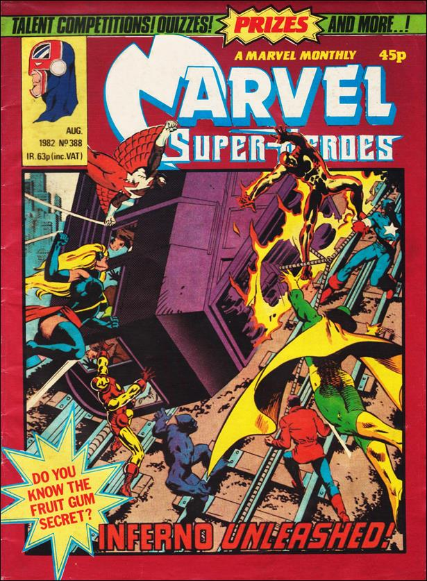 Marvel Superheroes (UK) 388-A by Marvel UK