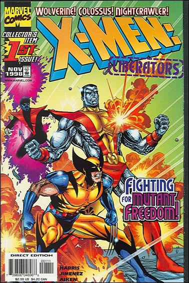X-Men: Liberators 1-A by Marvel