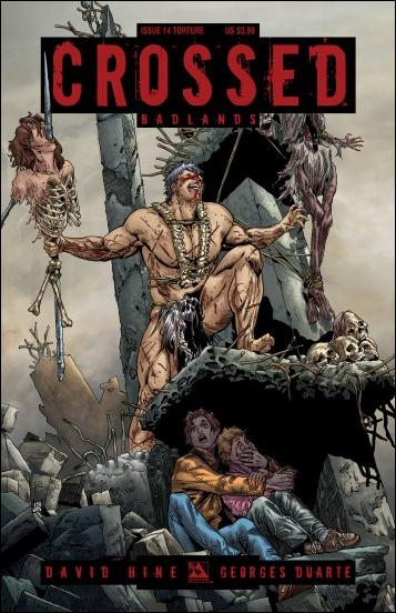 Crossed: Badlands 14-C by Avatar Press
