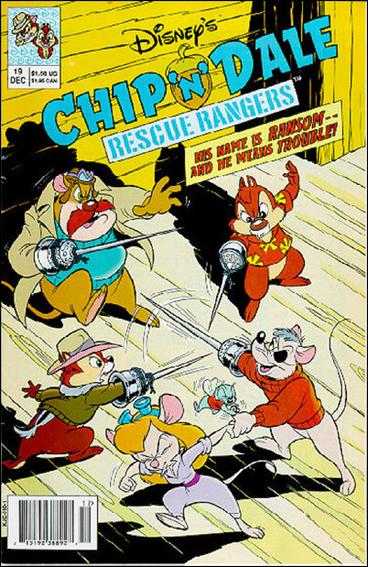 Chip 'n' Dale Rescue Rangers (1990) 19-A by Disney