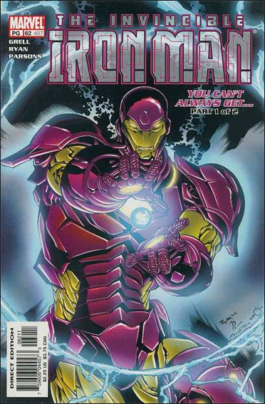 Iron Man (1998) 62-A by Marvel