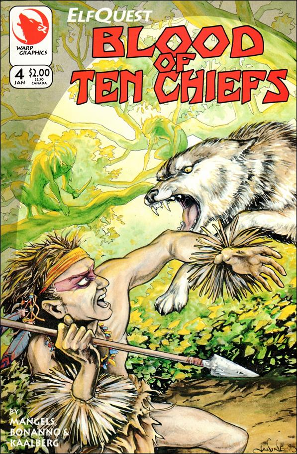 Elfquest: Blood of Ten Chiefs 4-A by Warp Graphics
