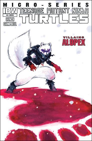 Teenage Mutant Ninja Turtles Villains Micro-Series 4-B by IDW