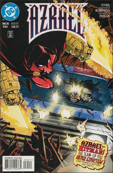 Azrael (1995) 35-A by DC