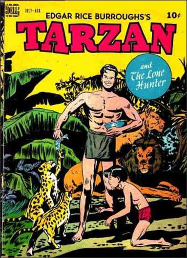 Tarzan (1948) 4-A by Dell