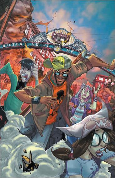 Fanboys vs Zombies 7-C by Boom! Studios