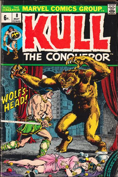 Kull the Conqueror (1971) 8-B by Marvel