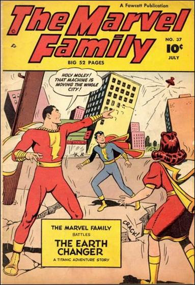 Marvel Family 37-A by Fawcett