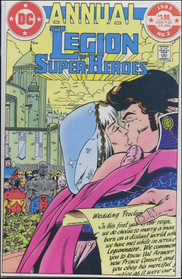 Legion of Super-Heroes Annual 2-A by DC