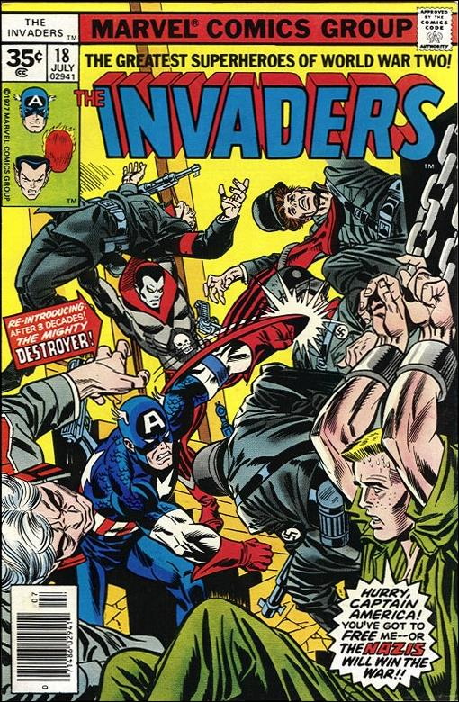 Invaders (1975) 18-B by Marvel