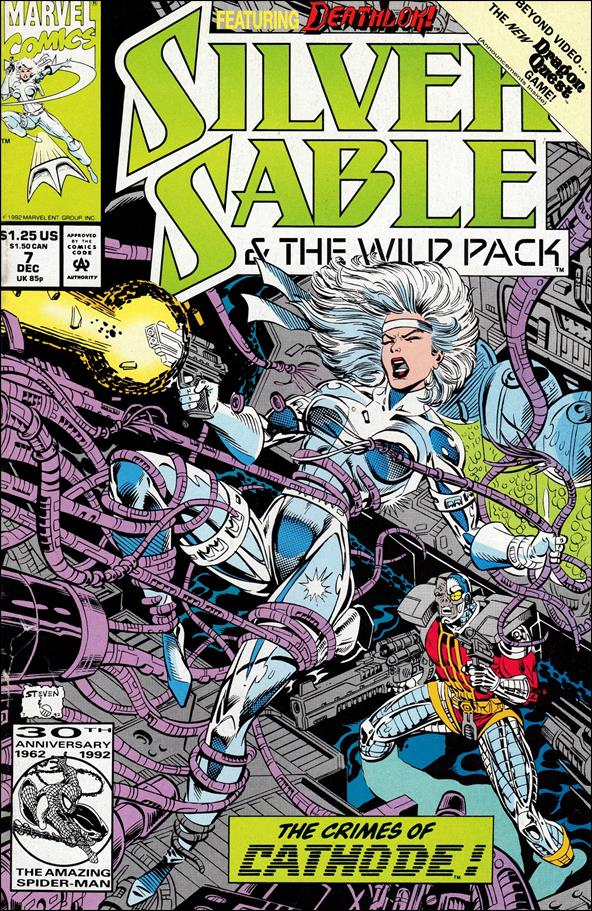 Silver Sable & The Wild Pack 7-A by Marvel