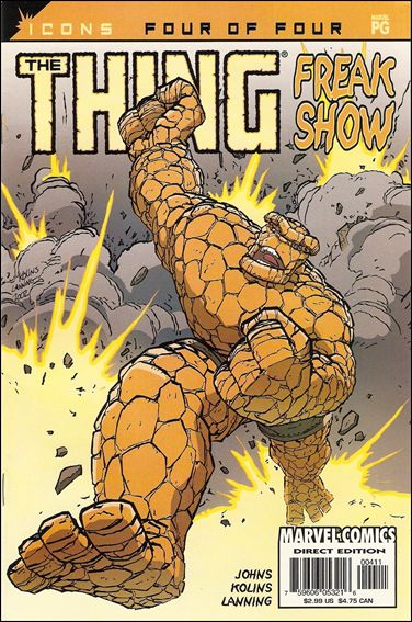 Thing: Freakshow 4-A by Marvel
