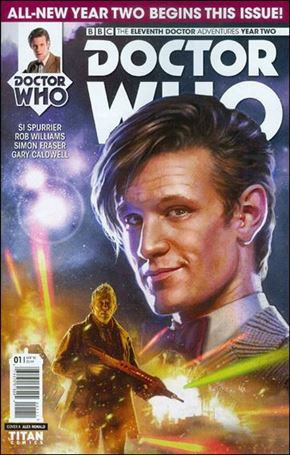 Doctor Who: The Eleventh Doctor Year Two 1-A