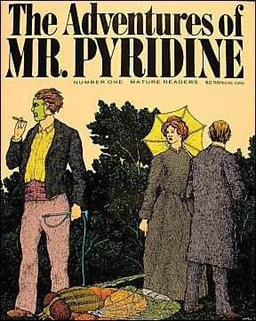 Adventures of Mr. Pyridine 1-A by Fantagraphics