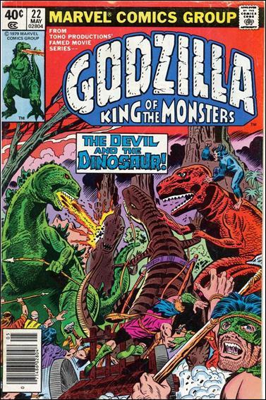 Godzilla (1977) 22-A by Marvel