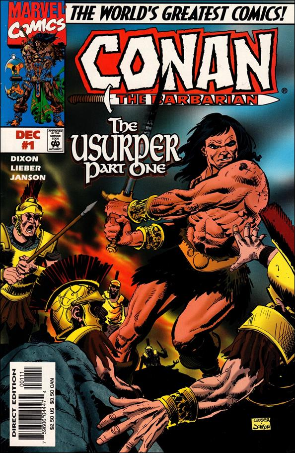 Conan the Barbarian: The Usurper 1-A by Marvel