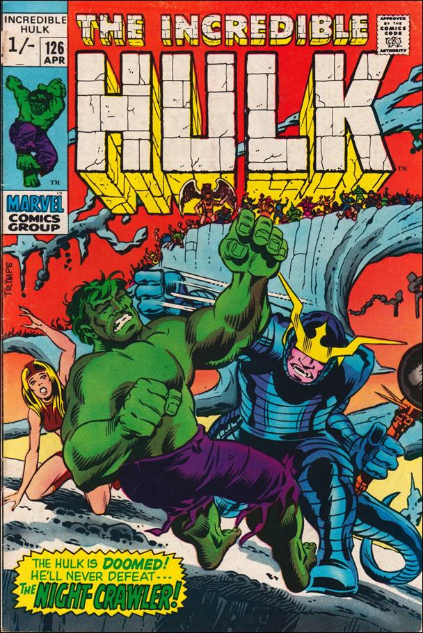 Incredible Hulk (1968) 126-B by Marvel
