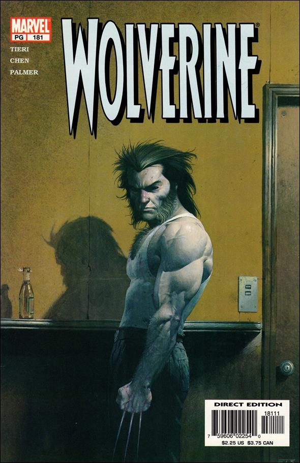 Wolverine (1988)  181-A by Marvel