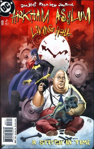 Arkham Asylum: Living Hell 3-A by DC