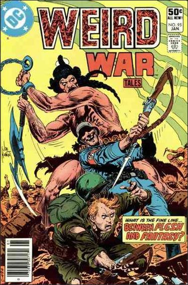 Weird War Tales (1971) 95-A by DC
