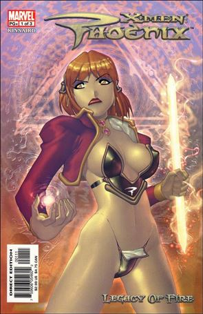 X-Men: Phoenix - Legacy of Fire 1-A