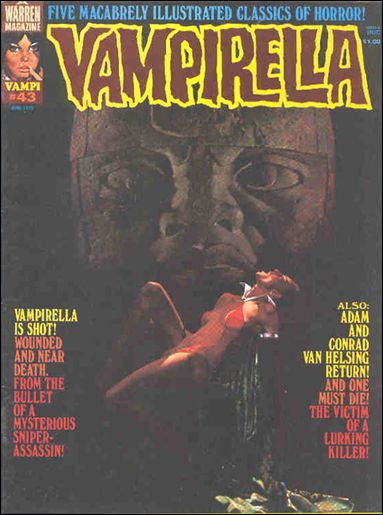 Vampirella 43-A by Warren