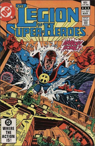Legion of Super-Heroes (1980) 285-A by DC