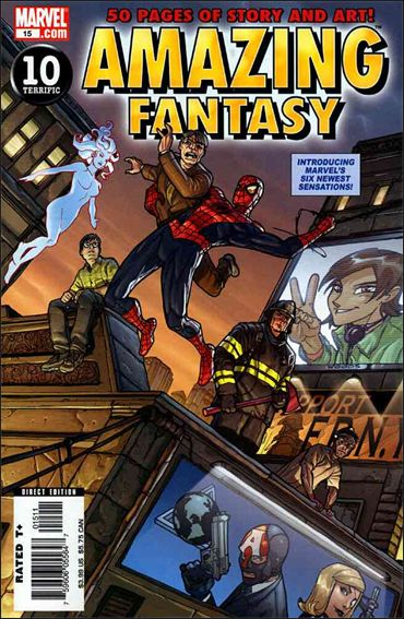 Amazing Fantasy (2004) 15-A by Marvel