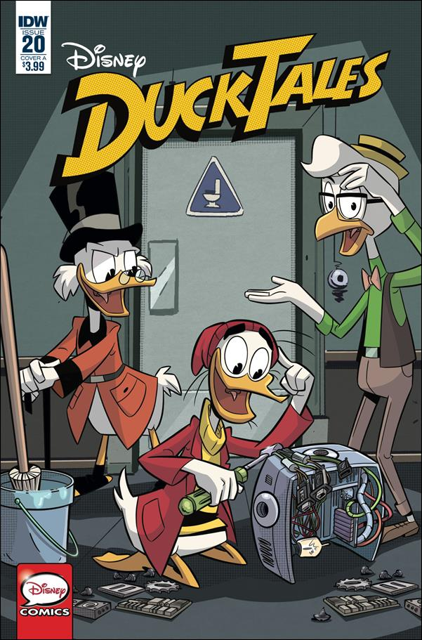 Ducktales (2017) 20-A by IDW