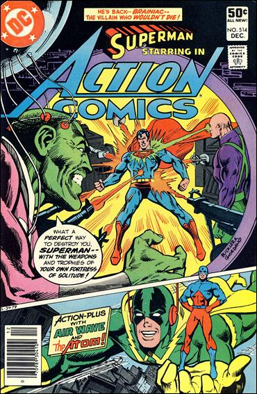 Action Comics (1938) 514-A by DC