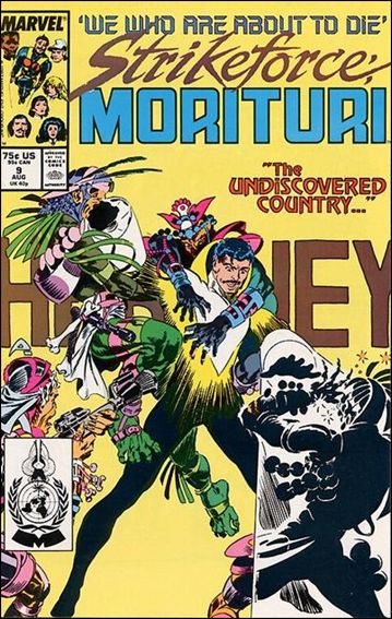 Strikeforce: Morituri 9-A by Marvel