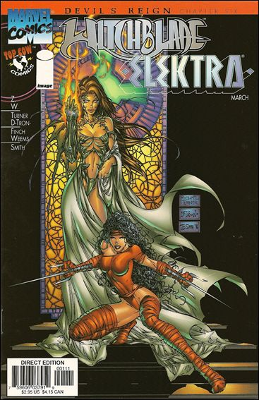 Witchblade/Elektra (Invalid) 1-Z-INVALID1 by Invalid Title