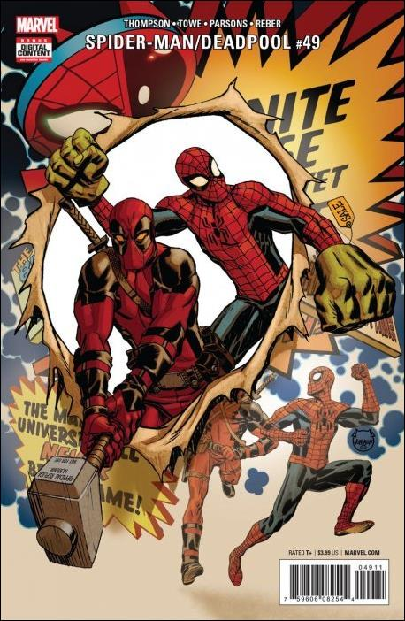 Spider-Man/Deadpool 49-A by Marvel