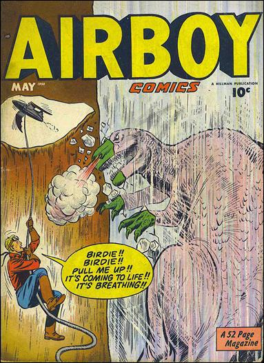 Airboy Comics (1950) 4-A by Hillman