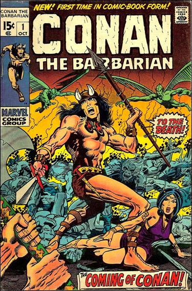 Conan the Barbarian (1970) 1-A by Marvel