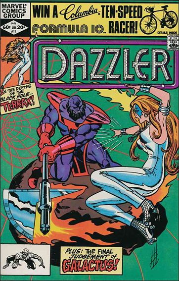 Dazzler (1981) 11-A by Marvel