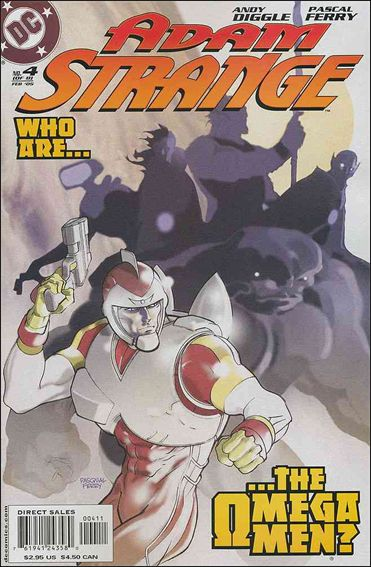 Adam Strange (2004) 4-A by DC