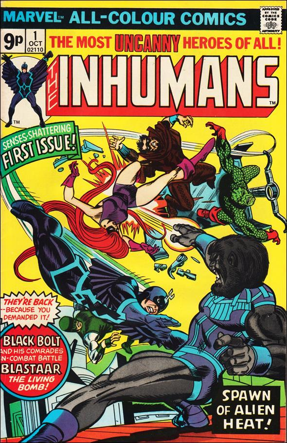 Inhumans (1975) 1-B by Marvel