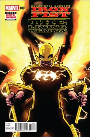 Iron Fist: The Living Weapon 10-A