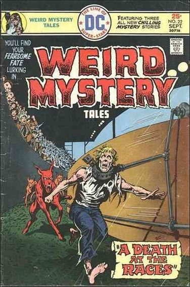 Weird Mystery Tales (1972) 22-A by DC