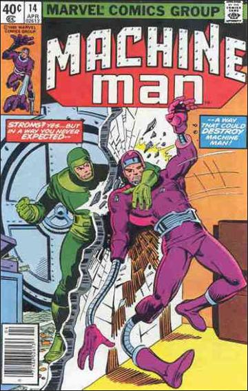 Machine Man (1978) 14-A by Marvel